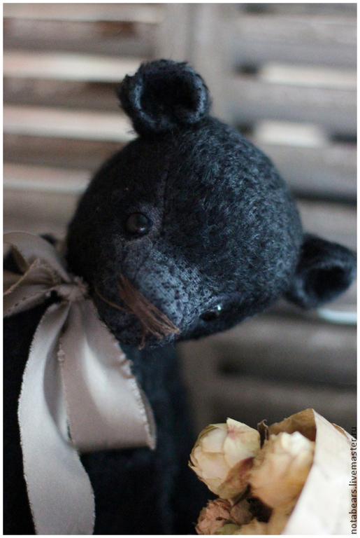 Мишки Тедди ручной работы. Ярмарка Мастеров - ручная работа. Купить Brody). Handmade. Черный, подарок, подарок на новый год, мохер