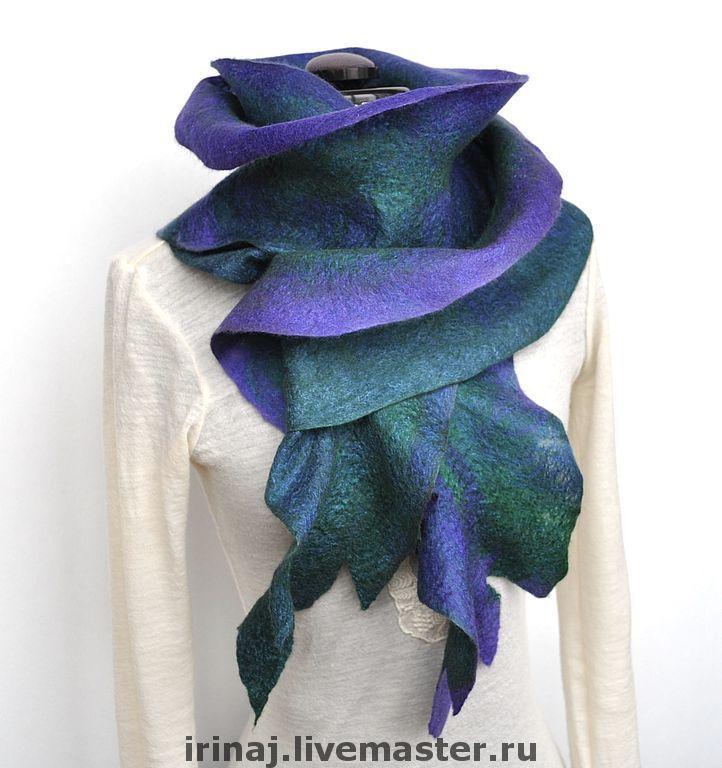 Мастер класс по валянию шарф капуста