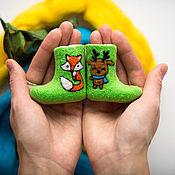Сувениры и подарки ручной работы. Ярмарка Мастеров - ручная работа Сувенирные валенки. Handmade.