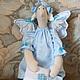 Куклы Тильды ручной работы. Сонный ангел. Юлия Григорьева (yojiky). Ярмарка Мастеров. Соня, для детской, кружево ручной работы