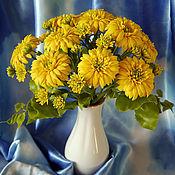 """Цветы и флористика ручной работы. Ярмарка Мастеров - ручная работа Композиция """"Золотые шары"""". Handmade."""