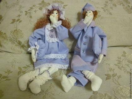 Куклы Тильды ручной работы. Ярмарка Мастеров - ручная работа Чета  Сплюшкины 26. Handmade.