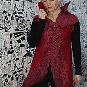 """Одежда ручной работы. Ярмарка Мастеров - ручная работа Кардиган """"Рубиновые грезы"""". Handmade."""