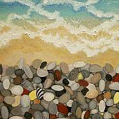 Картины и панно ручной работы. Ярмарка Мастеров - ручная работа Пляж.. Handmade.