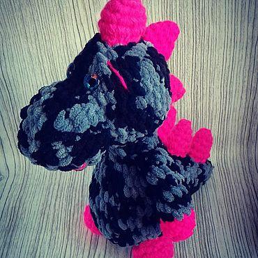 Куклы и игрушки ручной работы. Ярмарка Мастеров - ручная работа Мягкие игрушки: Динозаврик. Handmade.