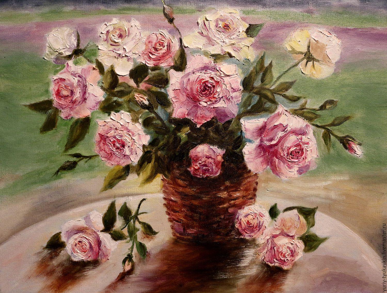 """"""" Букет роз """" (копия), Картины, Москва, Фото №1"""