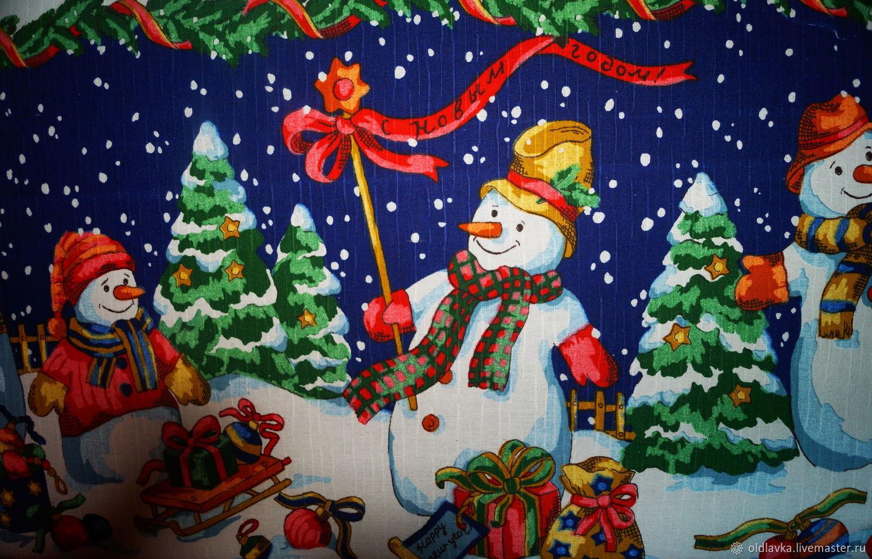 """Чемодан """"Веселые снеговики"""" для ёлочных игрушек"""