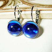 Украшения handmade. Livemaster - original item Earrings with Czech glass. Handmade.