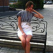 """Платья ручной работы. Ярмарка Мастеров - ручная работа Авторское платье """"Нежность Пионов"""". Handmade."""