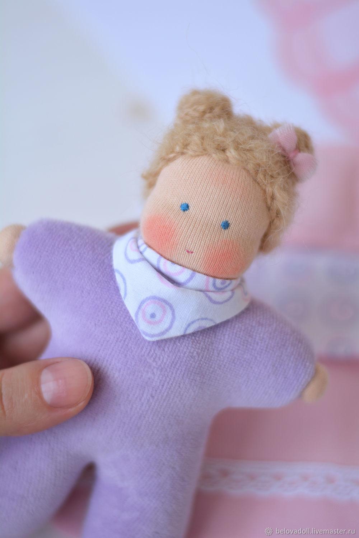 Вальдорфская кукла Ириска, 15 см, Игрушки, Краснодар, Фото №1