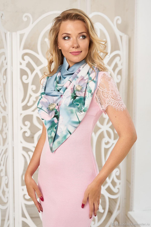 Handkerchief ' Florence', Shawls1, St. Petersburg,  Фото №1