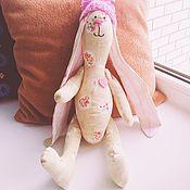 """Куклы и игрушки ручной работы. Ярмарка Мастеров - ручная работа Зайчик Тильда """"Розовое сердце"""". Handmade."""