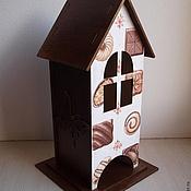 """Для дома и интерьера ручной работы. Ярмарка Мастеров - ручная работа Чайный домик """"Конфетка"""". Handmade."""