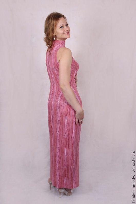 """Платья ручной работы. Ярмарка Мастеров - ручная работа. Купить """"Светлая королева"""" длинное платье из вискозы. Handmade. Розовый"""