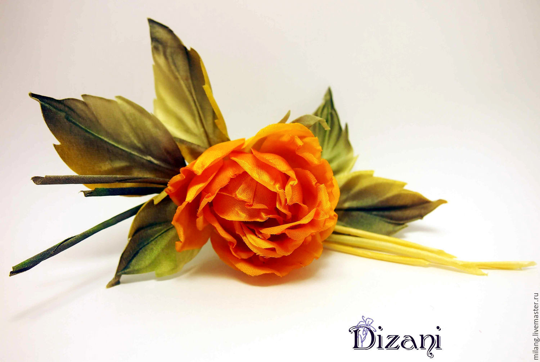 Brooch Rose Dawn Silk Flowers Fabric Flowers Shop Online On