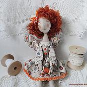 Куклы и игрушки ручной работы. Ярмарка Мастеров - ручная работа Кукла фейка-швейка Веснушка Лучик. Handmade.