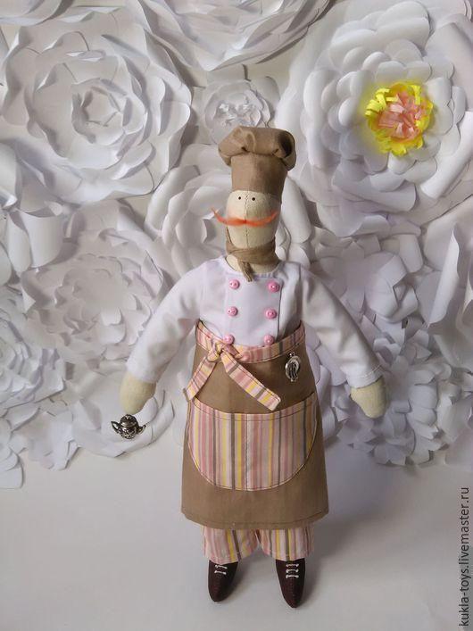 Куклы Тильды ручной работы. Ярмарка Мастеров - ручная работа. Купить Повар Тильды. Handmade. Повар тильды, кухня