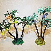 Деревья ручной работы. Ярмарка Мастеров - ручная работа Деревья из бисера. Handmade.
