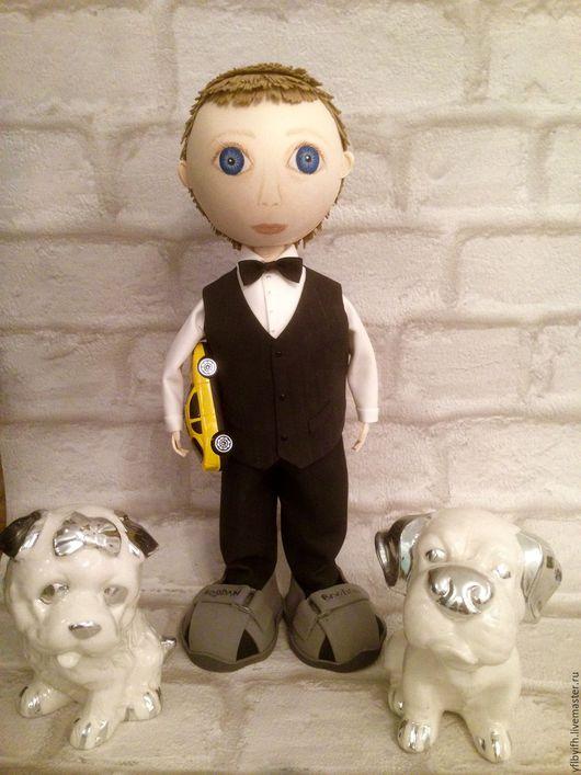 Портретные куклы ручной работы. Ярмарка Мастеров - ручная работа. Купить Кукла Богдаша. Handmade. Комбинированный, фофуча, пластичная замша