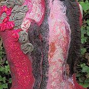 """Одежда ручной работы. Ярмарка Мастеров - ручная работа Жилет валяный в стиле бохо """"Лейда"""". Handmade."""