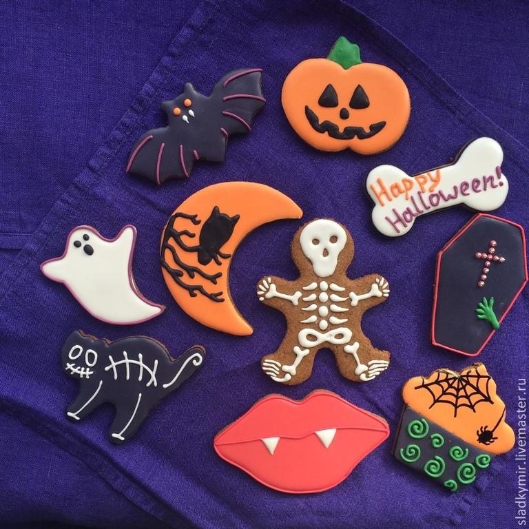 Пряники на хэллоуин своими руками 65