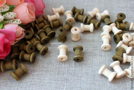 Куклы и игрушки ручной работы. Ярмарка Мастеров - ручная работа. Купить Катушка деревянная миниатюра. Handmade. Катушка, скрап материалы