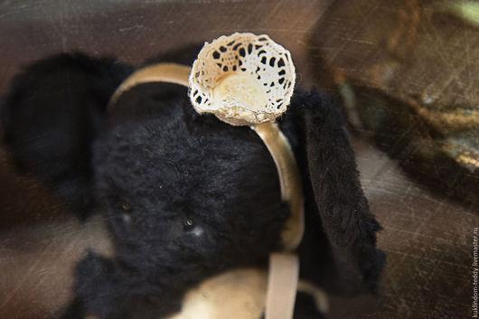 Мишки Тедди ручной работы. Ярмарка Мастеров - ручная работа. Купить Слонопринцесса Мия. Handmade. Черный, слоненок тедди