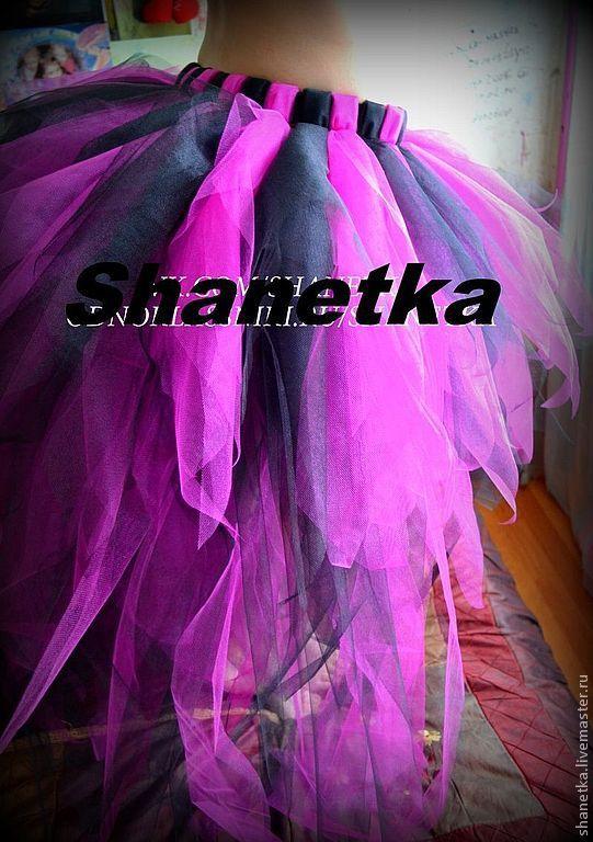 Как сшить юбку хризантему из фатина со шлейфом 98