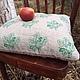 Текстиль, ковры ручной работы. Заказать Диванная подушка -Лесная сказка. Ÿkka. Ярмарка Мастеров. Подушка на диван, наволочка на подушку