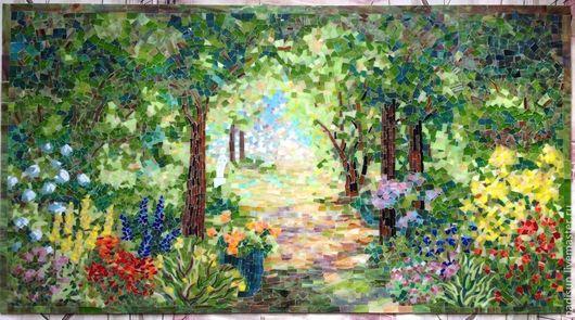 Немеркнущие краски стеклянной мозаики Надежды Стрелковой