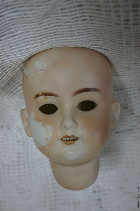 Винтажные куклы и игрушки. Ярмарка Мастеров - ручная работа. Купить Марсель 390 3. Handmade. Антикварная голова