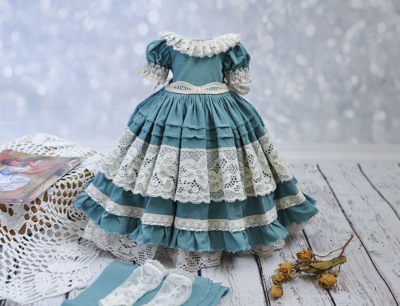 Платье для кукол Паола Рейна и Литтл Дарлинг, Одежда для кукол, Таганрог,  Фото №1