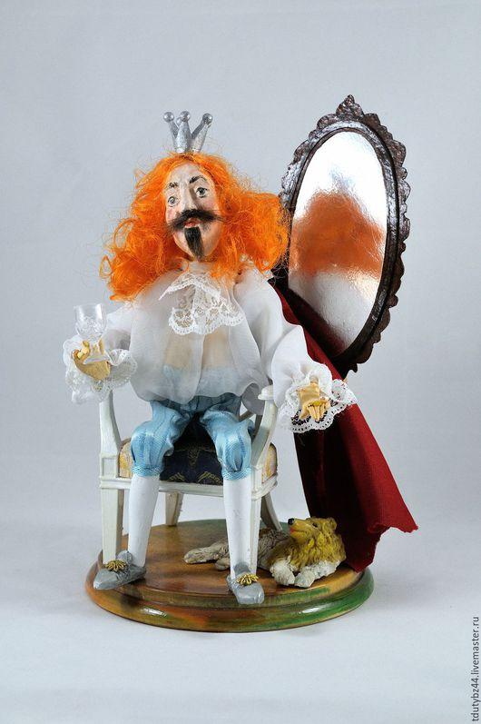 Коллекционные куклы ручной работы. Ярмарка Мастеров - ручная работа. Купить коллекционная кукла А КОРОЛЬ-ТО ГОЛЫЙ!!! коллекционная кукла. Handmade.