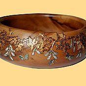 """Для дома и интерьера ручной работы. Ярмарка Мастеров - ручная работа чаша """"Кленовые листья"""". Handmade."""