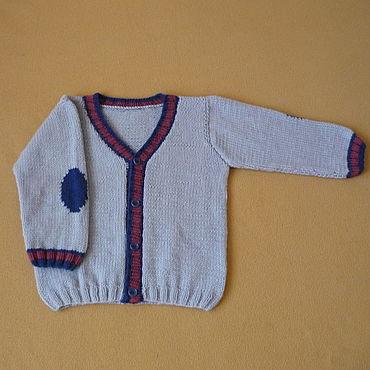 Clothing handmade. Livemaster - original item Knitted cardigan for a boy. Handmade.