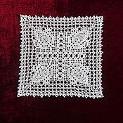 Для дома и интерьера handmade. Livemaster - original item Square doily No. №15. Handmade.