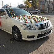 Свадебный салон ручной работы. Ярмарка Мастеров - ручная работа Розы ветки на присосках для украшения свадебной машины. Handmade.