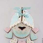 Сувениры и подарки ручной работы. Ярмарка Мастеров - ручная работа Пряничный домик - валентинка. Handmade.