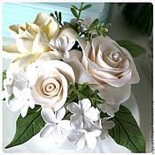 Цветы и флористика handmade. Livemaster - original item Interior arrangement a Fresh morning. Flowers from polymer clay.. Handmade.