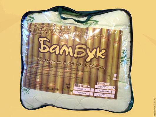 Текстиль, ковры ручной работы. Ярмарка Мастеров - ручная работа. Купить Одеяло Бамбук всесезонное 200 см на 220 см. Handmade.