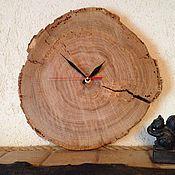 Для дома и интерьера ручной работы. Ярмарка Мастеров - ручная работа Часы Натуральный дуб. Handmade.