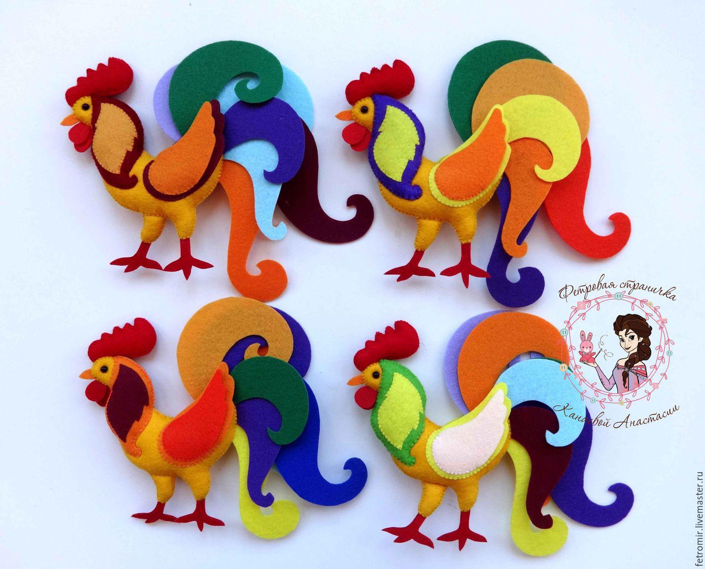 Новогодняя игрушка своими руками символ года петух