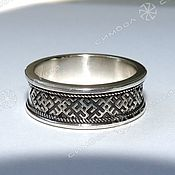Русский стиль handmade. Livemaster - original item RING AMULET. Handmade.