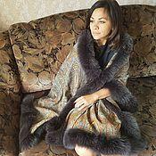 Аксессуары handmade. Livemaster - original item Royal stole with Arctic fox