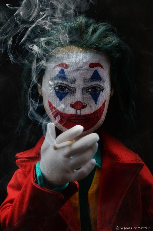 Джокер 2019, Портретная кукла, Москва,  Фото №1