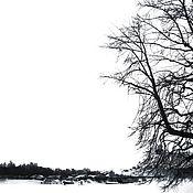 Fine art photographs handmade. Livemaster - original item Winter schedule. Handmade.