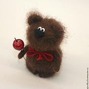 Куклы и игрушки ручной работы. Ярмарка Мастеров - ручная работа Мишка (почти Олимпийский). Handmade.
