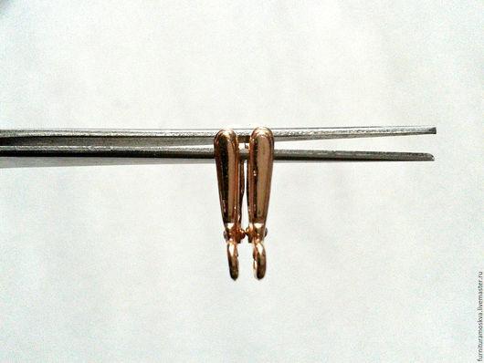 Для украшений ручной работы. Ярмарка Мастеров - ручная работа. Купить Швензы мельхиор,розовое золото,пр-во Россия. Handmade.