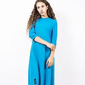 """Одежда ручной работы. Ярмарка Мастеров - ручная работа Платье """"Пастель"""" голубое. Handmade."""