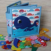 Развивающая книжка для детей до года своими руками